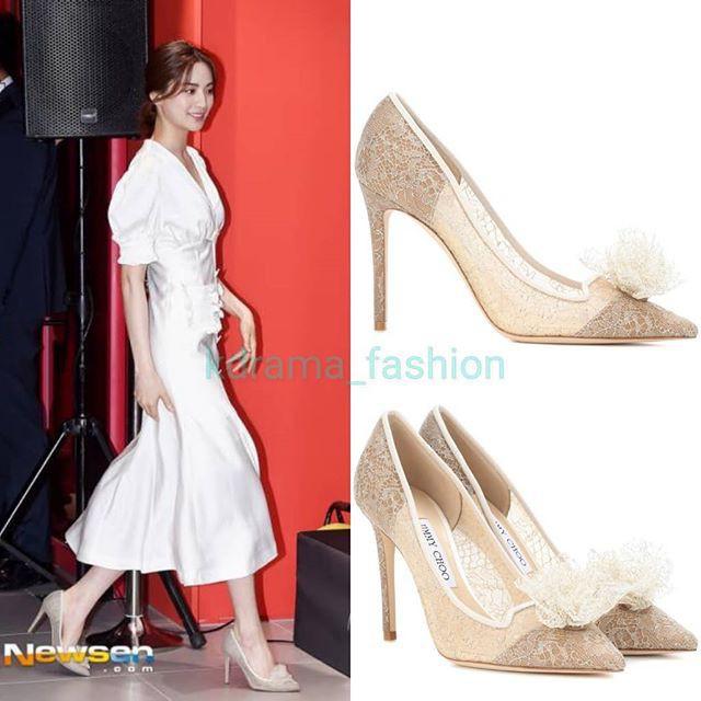 Diện đồ trắng rồi lại chọn giày cùng 1 hãng, chị đẹp Son Ye Jin và Nana thật khiến người ta không phân định được ai đẹp hơn - ảnh 6