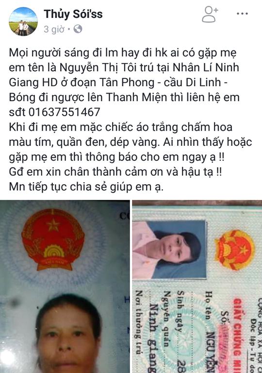Xôn xao nữ bệnh nhân ở Hải Dương mất tích sau khi nhập viện điều trị - ảnh 1