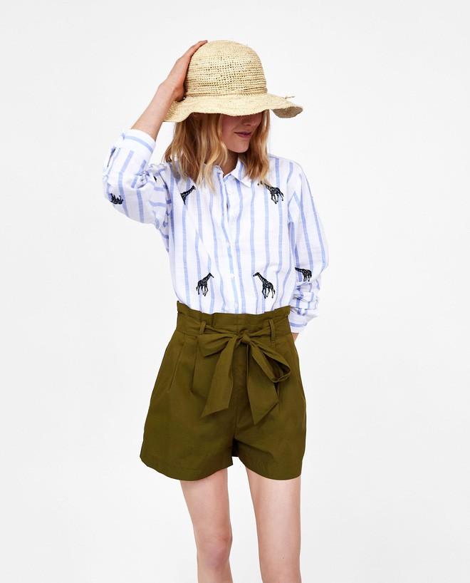 """""""Quần shorts của mẹ"""" - mốt quần mới năm nay đảm bảo mặc mát và hoàn toàn có thể diện tới sở làm - ảnh 3"""