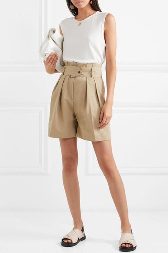 """""""Quần shorts của mẹ"""" - mốt quần mới năm nay đảm bảo mặc mát và hoàn toàn có thể diện tới sở làm - ảnh 6"""