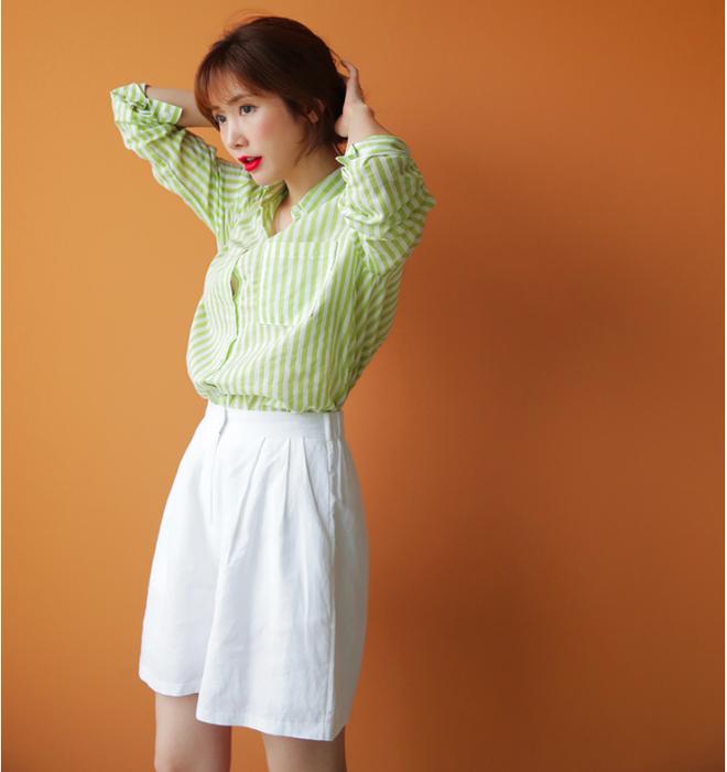 """""""Quần shorts của mẹ"""" - mốt quần mới năm nay đảm bảo mặc mát và hoàn toàn có thể diện tới sở làm - ảnh 10"""