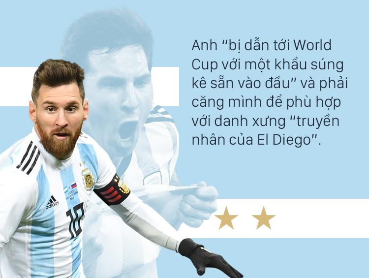 Không có vinh quang cho Messi, bởi anh không đổ máu vì nó - Ảnh 13.