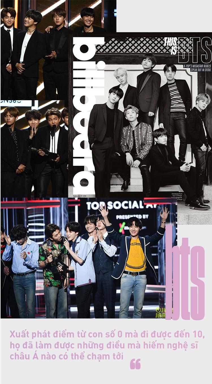 BTS: Kỳ tích đáng tự hào hiếm nghệ sĩ châu Á nào có thể chạm tới - Ảnh 6.