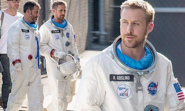 Trai đẹp Ryan Gosling chinh phục mặt trăng trong phim tiểu sử First Man - ảnh 1