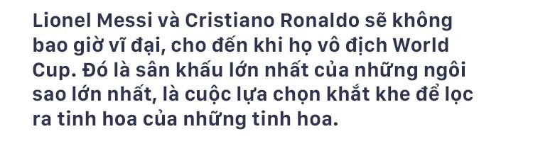 Messi và Ronaldo tan giấc mơ World Cup: Sẽ chẳng còn lần nào để trở thành vĩ đại - Ảnh 1.
