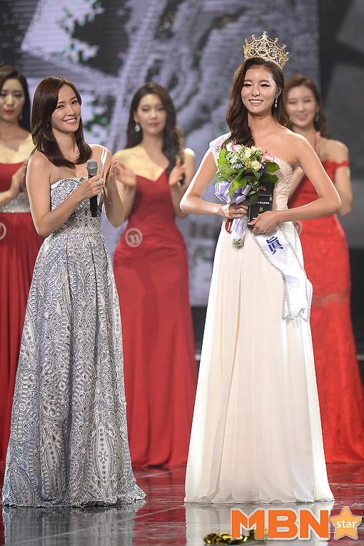 """Trớ trêu các cuộc thi sắc đẹp Hàn Quốc: Hoa hậu bị """"kẻ ngoài cuộc"""" lấn át nhan sắc ngay trong đêm đăng quang! - ảnh 21"""