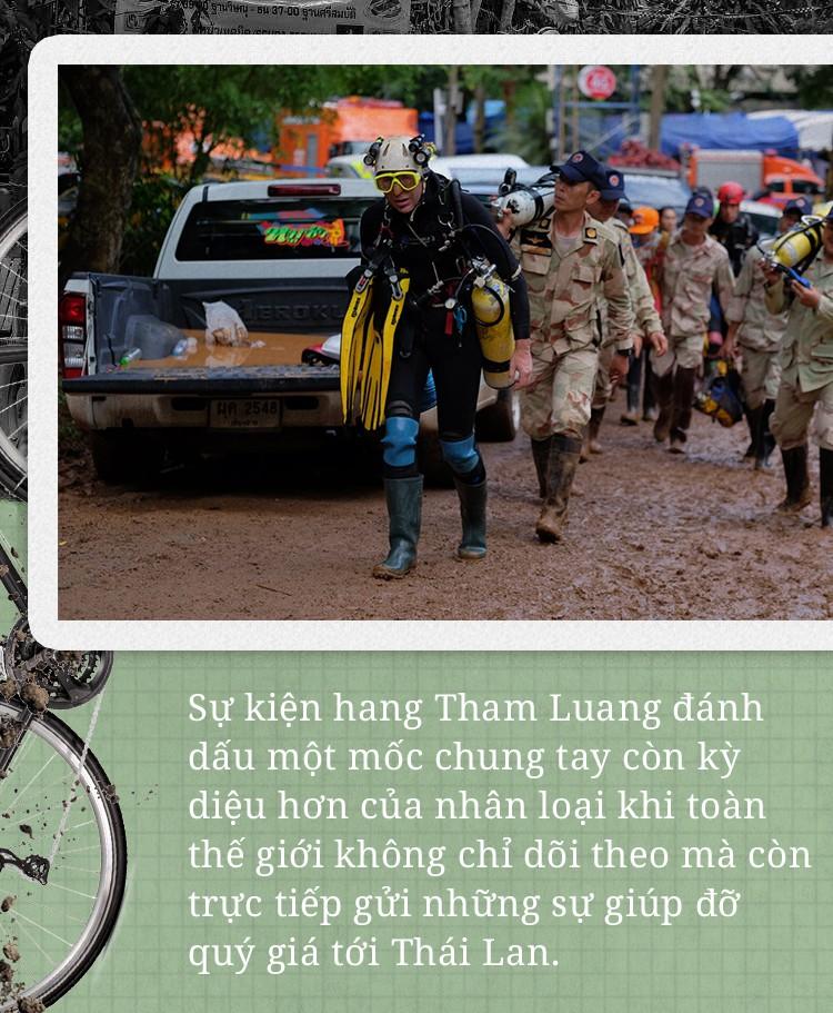 12 đứa trẻ mắc kẹt trong hang và sức mạnh phi thường của tình đoàn kết thế giới - Ảnh 4.