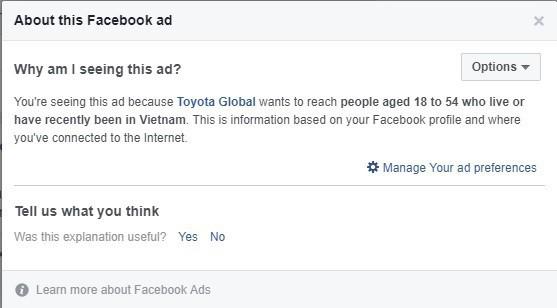 Suốt ngày nhìn thấy những quảng cáo ngượng chín mặt trên Facebook? Đây là cách giải quyết ngay! - ảnh 3