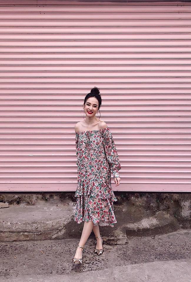 Bảo Anh diện váy hè không ngại vén cao táo bạo, Hà Hồ nghi án thả rông với áo ôm sát gợi cảm - Ảnh 4.