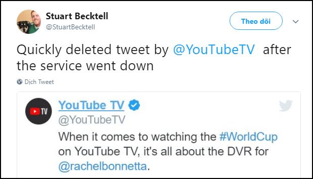 Livestream Anh-Croatia bị sập suốt 40 phút trên YouTube TV, dân tình chỉ còn biết kêu trời - ảnh 4
