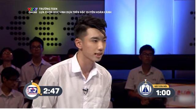 Hotboy trường THPT Trần Phú khiến cư dân mạng ngây ngất vì vừa đẹp trai, vừa tranh luận cực đanh thép - ảnh 1