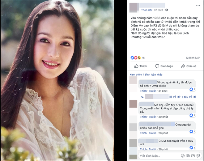 Sự thật chuyện Diễm My nhan sắc lộng lẫy nhưng không được thi Hoa hậu Việt Nam vì quá cao - ảnh 1