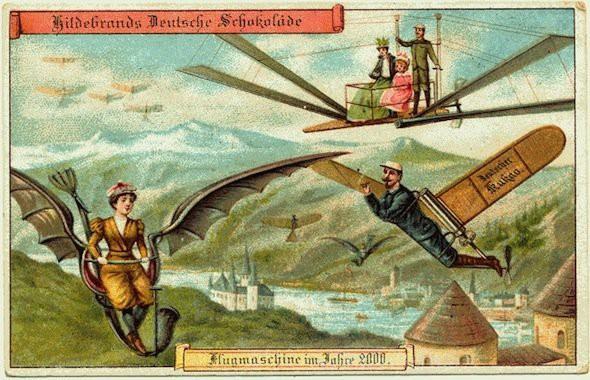 Năm 1900 người ta đã từng mơ tưởng về thế giới tương lai của năm 2000 ảo diệu đến thế này - ảnh 2