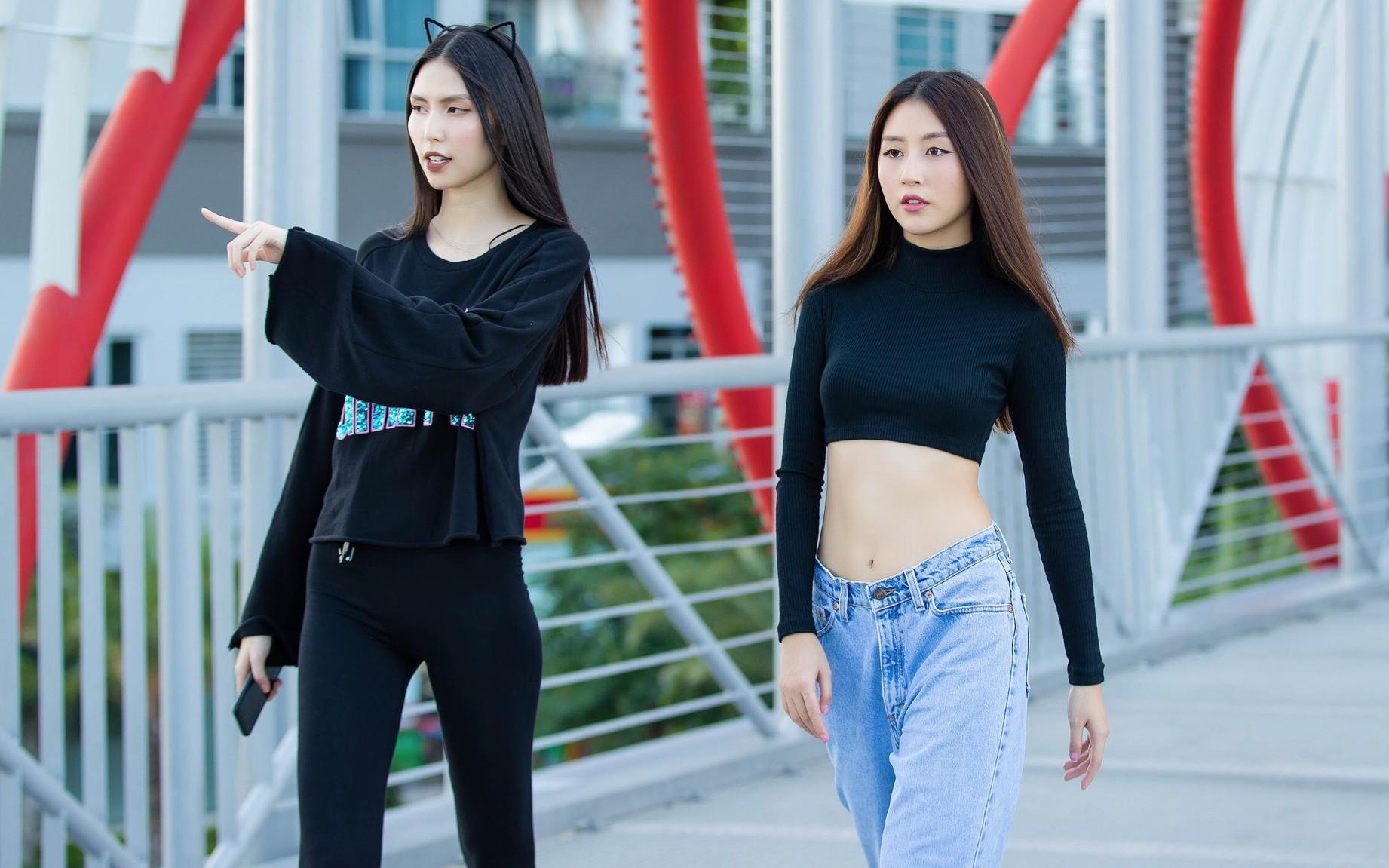 Quỳnh Anh Shyn nhờ Thùy Dương chỉ dạy catwalk, hứa hẹn sẽ phá đảo đường băng thời gian tới