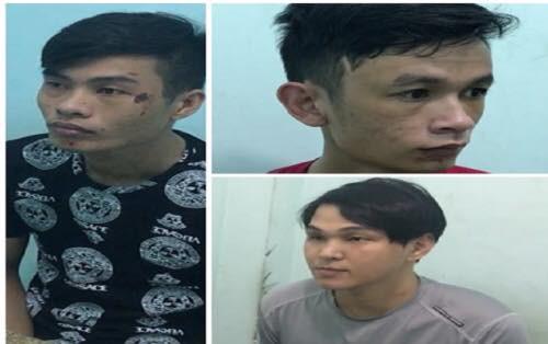 Bắt nhóm chuyên dùng bình xịt hơi cay để tấn công phụ nữ rồi cướp tài sản ở Sài Gòn - ảnh 1