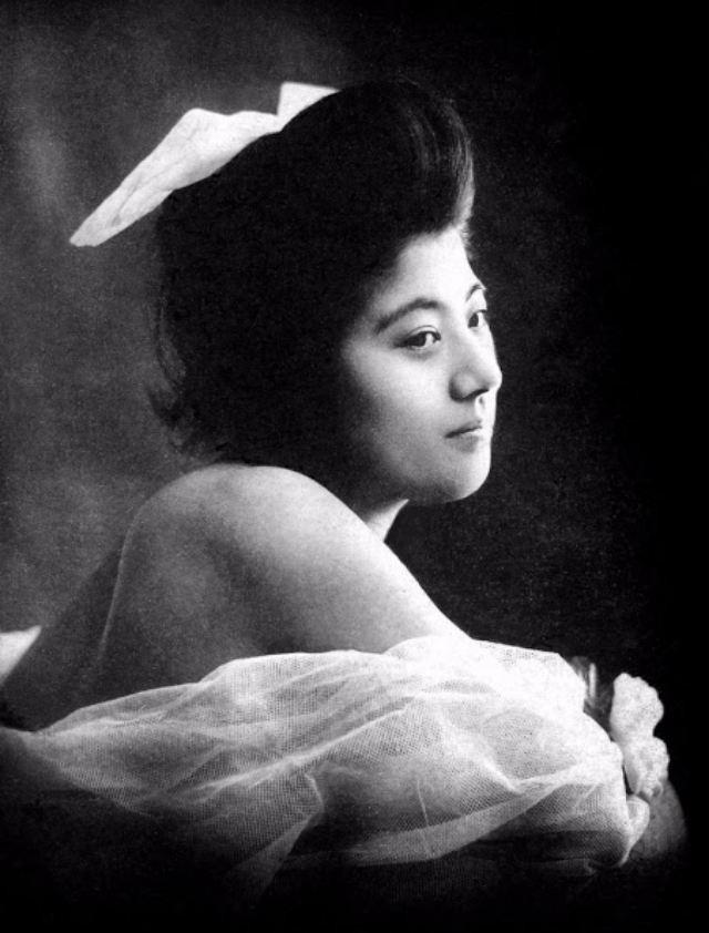 15 bức ảnh mặt mộc không son phấn của các nàng geisha thế kỷ 19 đẹp đến ngỡ ngàng làm bạn không thể rời mắt - ảnh 13