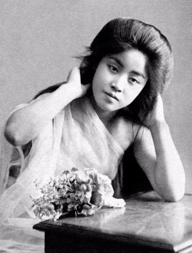 15 bức ảnh mặt mộc không son phấn của các nàng geisha thế kỷ 19 đẹp đến ngỡ ngàng làm bạn không thể rời mắt - ảnh 16