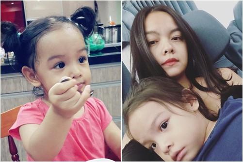 Mới 6 tuổi, con gái Phạm Quỳnh Anh đã biết quan tâm, nhắn tin hỏi thăm khi mẹ đi diễn xa - ảnh 2