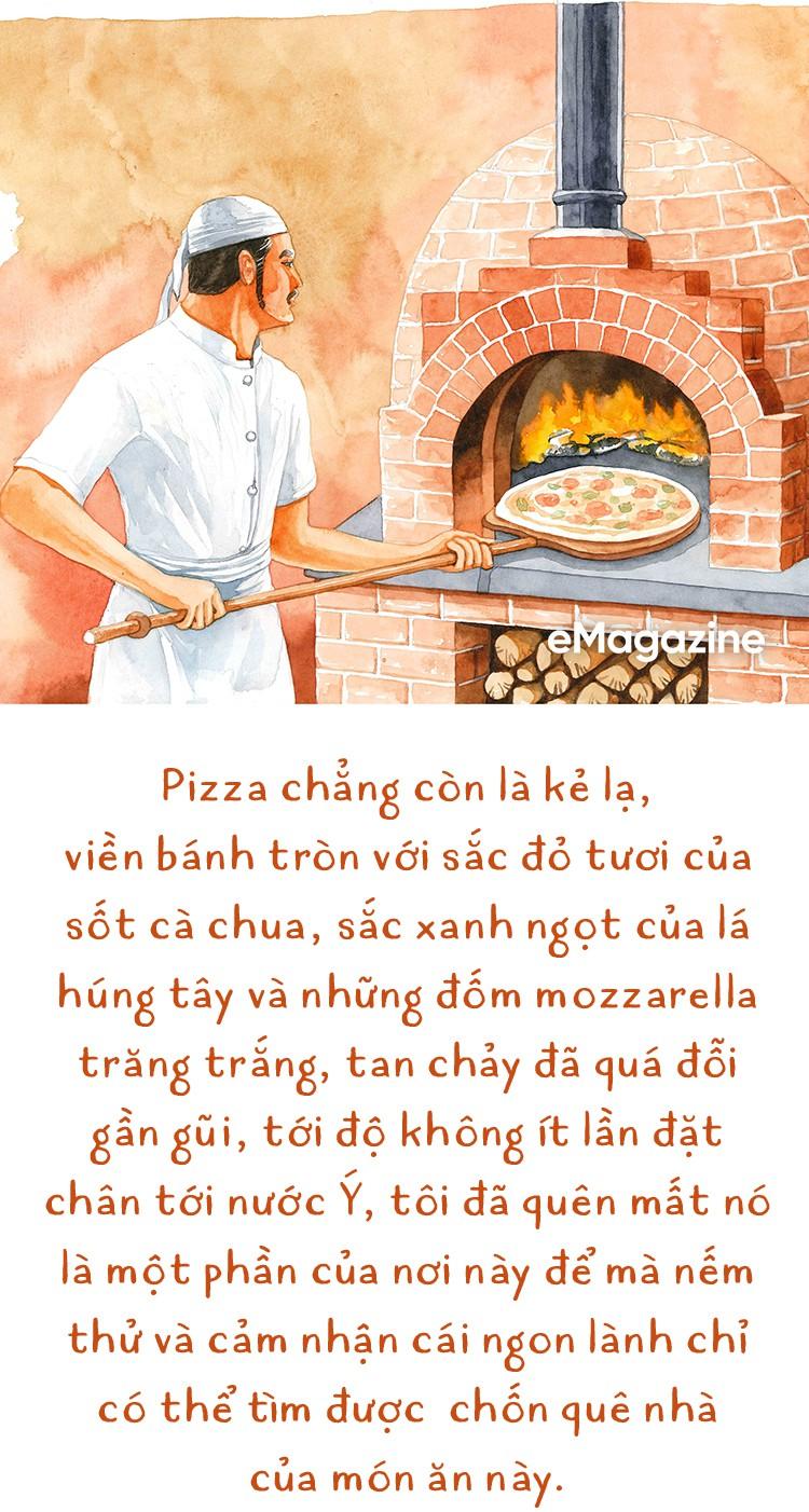 """Dù thế giới có đảo điên, người Ý vẫn chỉ có một """"Pizza"""" - thứ pizza được nướng từ lò củi - Ảnh 3."""