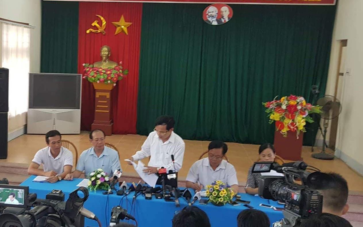 Xác định Phó giám đốc và 4 cán bộ Sở GD&ĐT Sơn La có liên quan đến sai phạm điểm thi THPT quốc gia