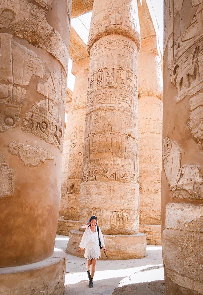 Bộ ảnh du lịch Ai Cập của cô bạn xinh đẹp: Xem xong sẽ thấy rất đáng để ước mơ ghé thăm một lần - Ảnh 15.