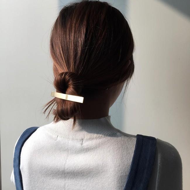 Có tới 13 kiểu tóc búi duyên dáng dành cho nàng tóc mỏng làm điệu mỗi ngày - Ảnh 13.