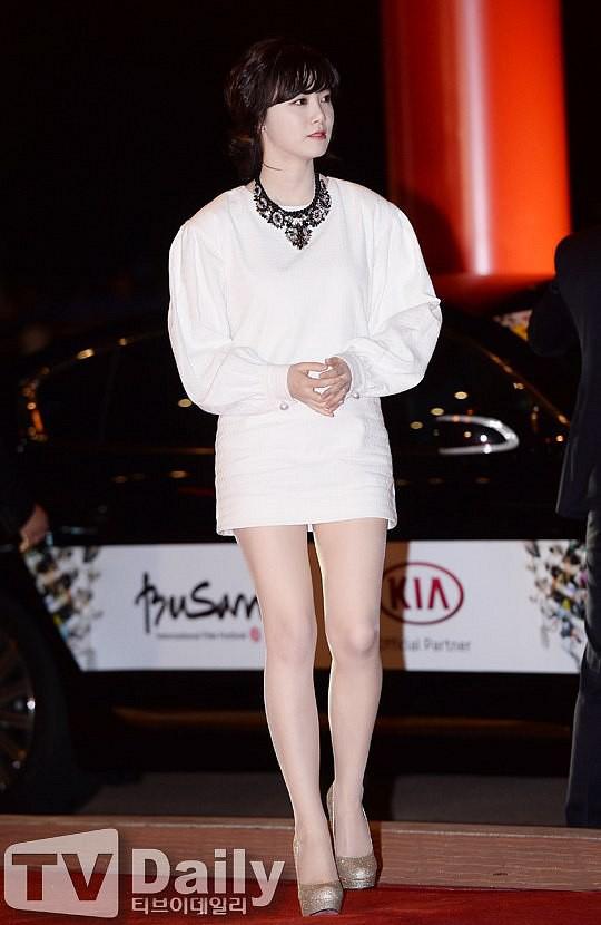 Giảm cân thành công nhưng Goo Hye Sun vẫn kém đẹp chỉ vì thói quen này khi diện váy ngắn - ảnh 5