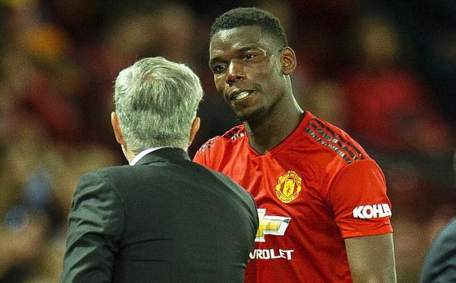 Pogba ngập ngừng hé lộ về quan hệ không mấy tốt đẹp với Mourinho - ảnh 1