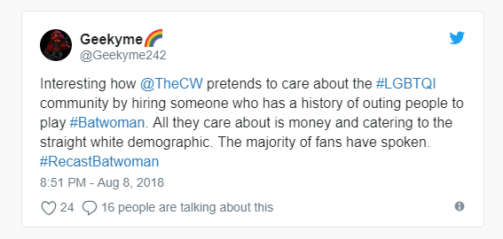 """Diễn viên đồng tính Ruby Rose xoá tài khoản Twitter vì nhận đầy """"gạch đá"""" cho vai Batwoman - ảnh 3"""