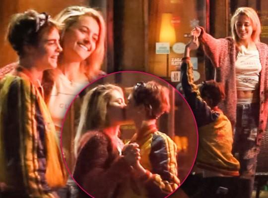 Hết hẹn hò con gái Michael Jackson, Cara Delevingne lại khóa môi đồng giới với người đẹp mới - Ảnh 5.