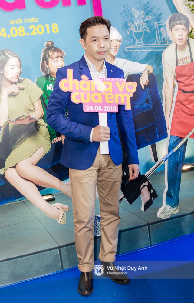Chàng vợ Thái Hòa hóa soái ca, cạnh tranh nhan sắc với Hứa Vĩ Văn tại đêm ra mắt phim mới - ảnh 2