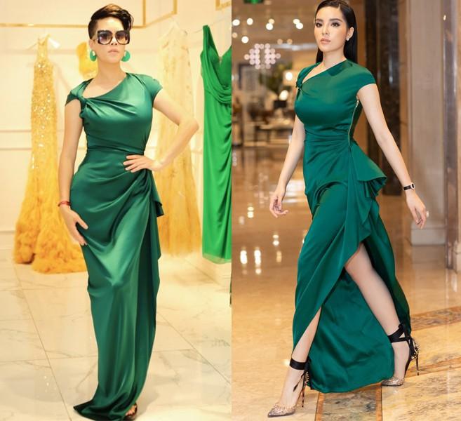 Dù gấp đôi tuổi Hoa hậu Kỳ Duyên nhưng ca sĩ Thu Phương vẫn rất tự tin khi diện cùng một thiết kế váy này - ảnh 6