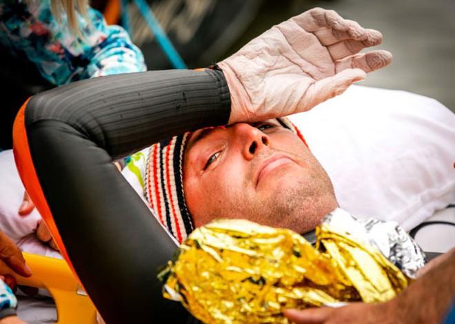Từng đánh bại bệnh bạch cầu rồi giành HCV Olympic, VĐV này vừa hoàn thành chặng bơi marathon dài 163km trong 55h để gây quỹ nghiên cứu ung thư - ảnh 11
