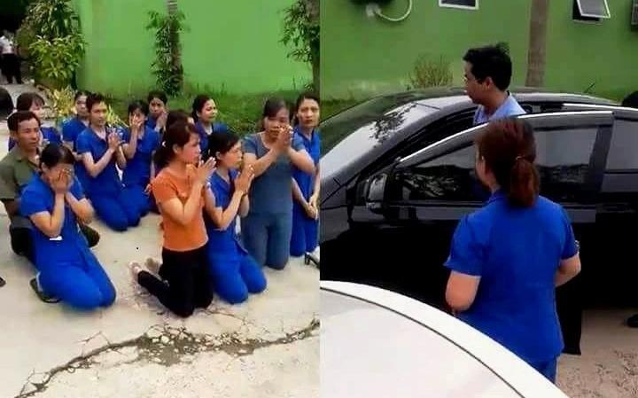 Kỷ luật Chủ tịch thị trấn vì để các cô giáo mầm non quỳ xin