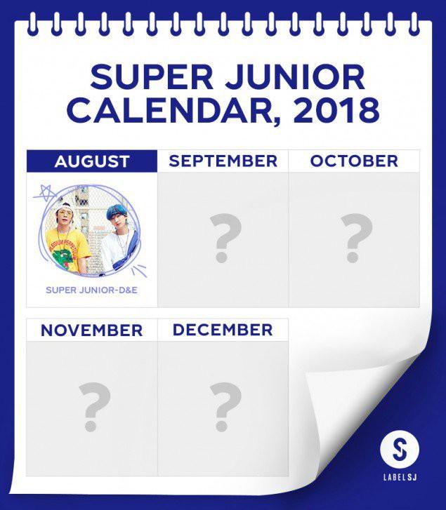 Super Junior khiến fan bất ngờ khi công bố lịch comeback: Mỗi tháng một sản phẩm - Ảnh 1.