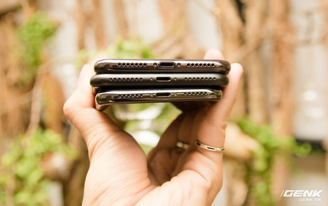 So sánh kích thước iPhone X Plus và iPhone 7 Plus: To bằng nhau, nhưng màn hình iPhone X Plus lớn hơn nhiều - Ảnh 13.