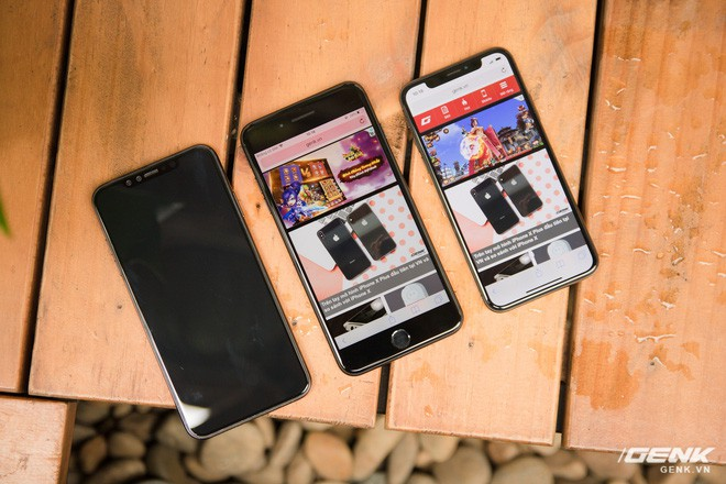 So sánh kích thước iPhone X Plus và iPhone 7 Plus: To bằng nhau, nhưng màn hình iPhone X Plus lớn hơn nhiều - Ảnh 10.