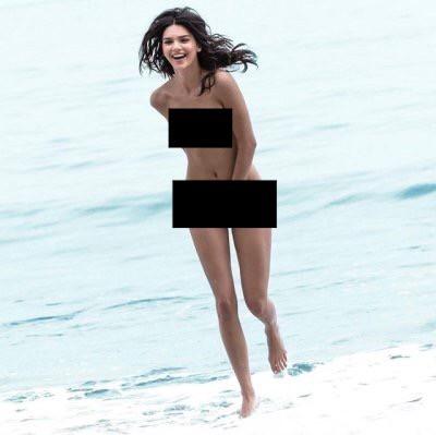 Kendall Jenner lộ cả bộ ảnh khỏa thân hoàn toàn gây sốc, trở thành cái tên viral hàng đầu mạng xã hội! - Ảnh 7.