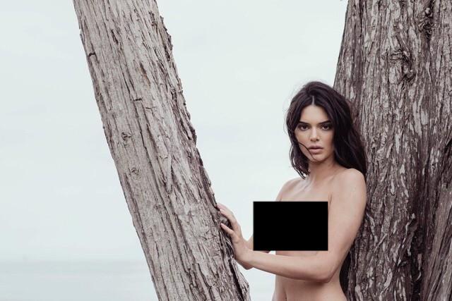 Kendall Jenner lộ cả bộ ảnh khỏa thân hoàn toàn gây sốc, trở thành cái tên viral hàng đầu mạng xã hội! - Ảnh 8.