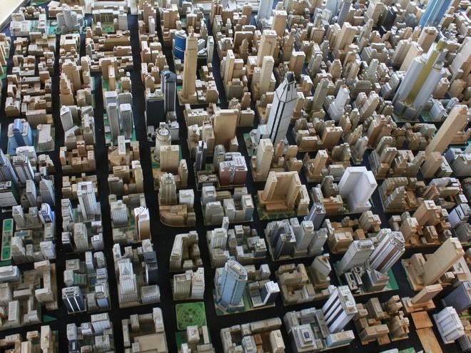 Choáng ngợp với mô hình thành phố mini siêu chi tiết được tạo nên bởi cụ ông 78 tuổi trong suốt hơn 65 năm - ảnh 16