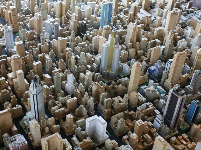 Choáng ngợp với mô hình thành phố mini siêu chi tiết được tạo nên bởi cụ ông 78 tuổi trong suốt hơn 65 năm - ảnh 17