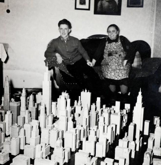 Choáng ngợp với mô hình thành phố mini siêu chi tiết được tạo nên bởi cụ ông 78 tuổi trong suốt hơn 65 năm - ảnh 4