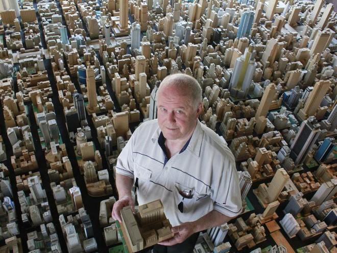 Choáng ngợp với mô hình thành phố mini siêu chi tiết được tạo nên bởi cụ ông 78 tuổi trong suốt hơn 65 năm - ảnh 7