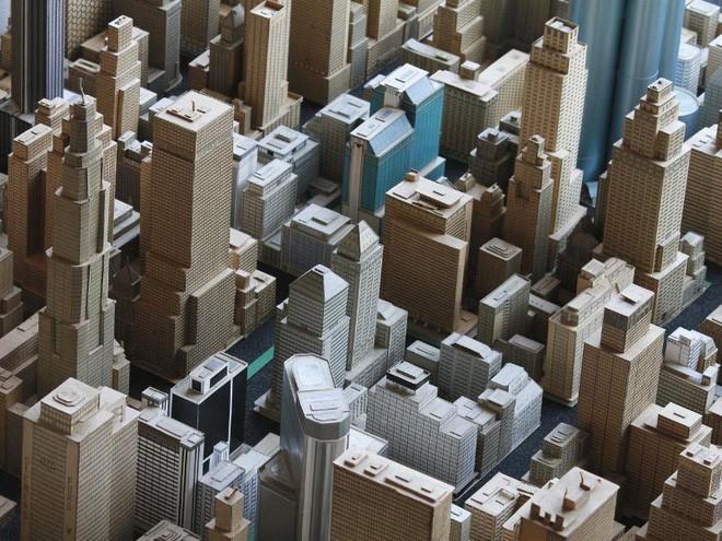 Choáng ngợp với mô hình thành phố mini siêu chi tiết được tạo nên bởi cụ ông 78 tuổi trong suốt hơn 65 năm - ảnh 8