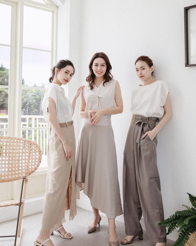 Tạm cất những thiết kế mỏng manh mềm mại, chân váy mùa thu năm nay lại thiên về kiểu đứng dáng thế này - ảnh 1