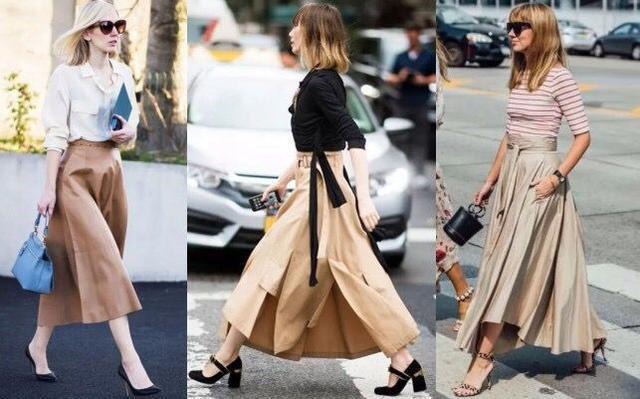 Tạm cất những thiết kế mỏng manh mềm mại, chân váy mùa thu năm nay lại thiên về kiểu đứng dáng thế này - ảnh 2