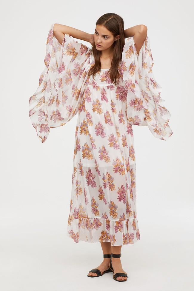 Duyên dáng như Hà Hồ diện váy liền dạo phố đón nắng thu, Zara và H&M cũng gợi ý 10 mẫu váy midi siêu nữ tính dành riêng cho bạn - ảnh 14