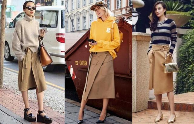 Tạm cất những thiết kế mỏng manh mềm mại, chân váy mùa thu năm nay lại thiên về kiểu đứng dáng thế này - ảnh 3
