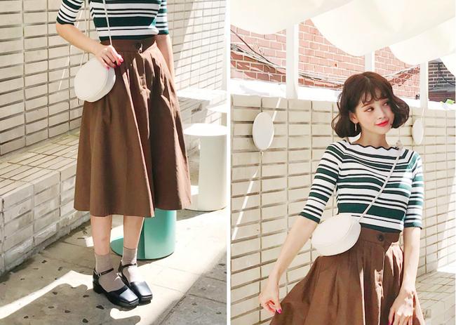 Tạm cất những thiết kế mỏng manh mềm mại, chân váy mùa thu năm nay lại thiên về kiểu đứng dáng thế này - ảnh 5