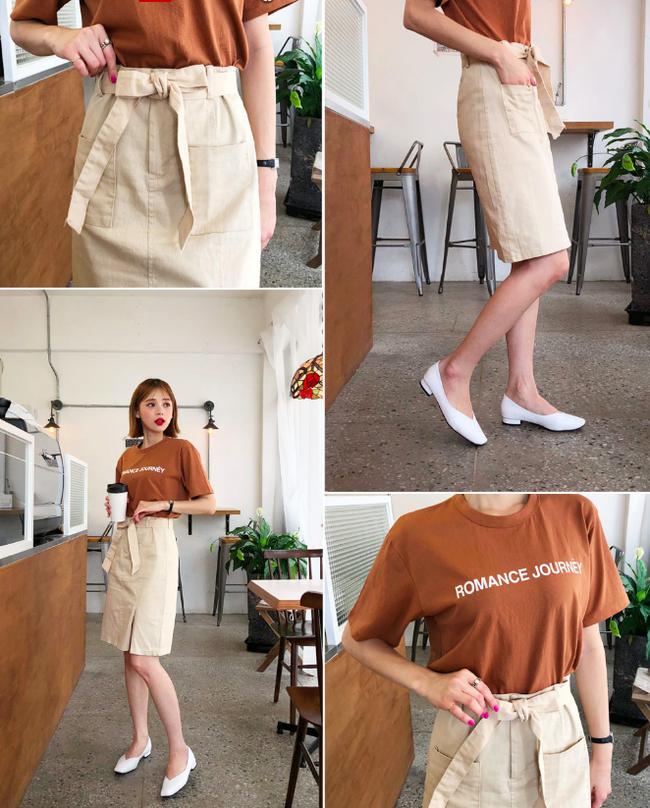 Tạm cất những thiết kế mỏng manh mềm mại, chân váy mùa thu năm nay lại thiên về kiểu đứng dáng thế này - ảnh 7